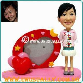 Custom 3d Caricature Fixed or Booblehead Figurine Made to Look Like U