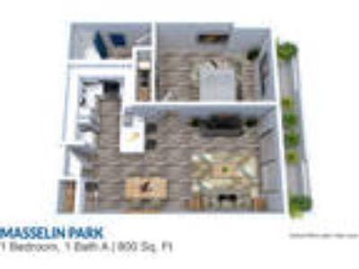 Masselin Park West - Plan73001ar One BR One BA