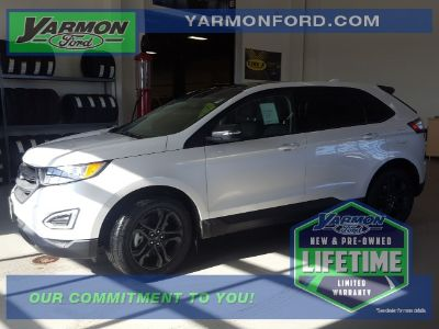 2018 Ford Edge SEL (White Platinum Clearcoat Metallic)