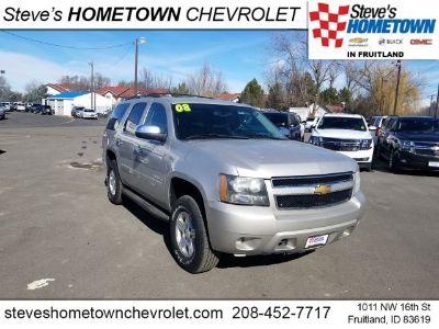 2008 Chevrolet Tahoe LS (silver birch metallic)