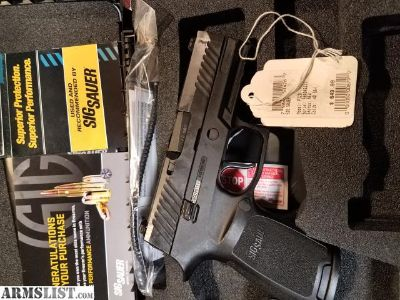 For Sale/Trade: Sig P320 carry