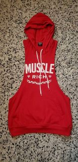 Hooded vest, small