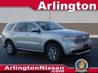 2011 Dodge Durango Express (Bright Silver Metallic)
