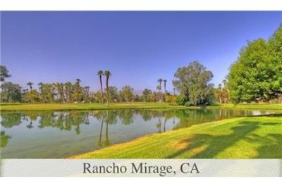 Rancho Mirage - The views are amazing from the back patio of this charming one bedroom.