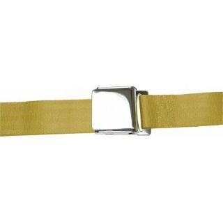 Buy 3 Point Retractable Airplane Buckle Camel Seat Belt (1 Belt)vintage point motorcycle in Portland, Oregon, United States, for US $93.45