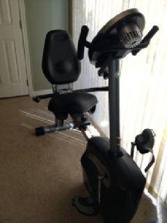 $275 Schwinn 213 stationary recumbent bike