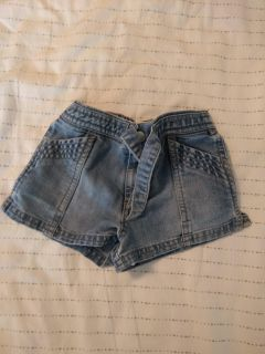 Old Navy jean shorts 6-12 months