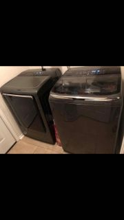 Samsung Washer and Dryer, like new!
