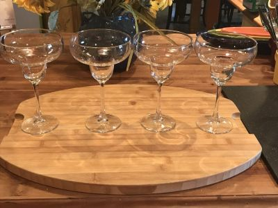 Margarita glasses set