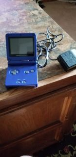 Gameboy advance color with 7 games