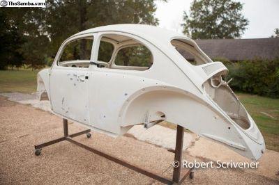 1965 Beetle sedan STOCK mid-restoration