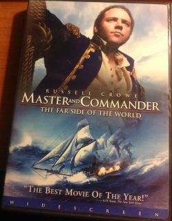 Master And Commander The Far Side of the World DVD Russell Crowe
