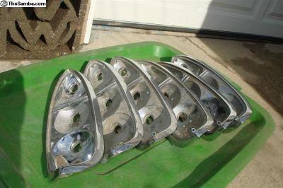 Type 3 chrome tail light bases