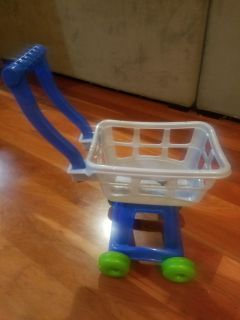 Plastic Grocery Cart for Kids
