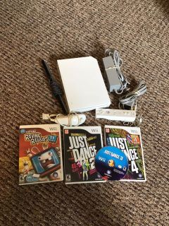 Nintendo Wii system and games