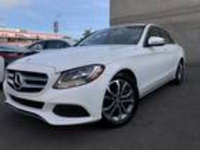 Used 2016 Mercedes-Benz C-Class White, 33.7K miles
