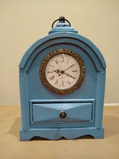 Decor Clock with small drawer