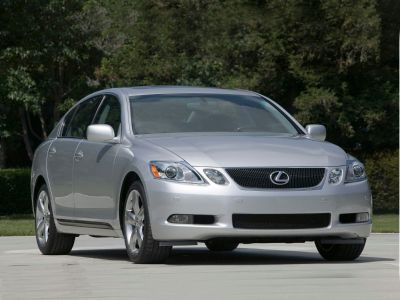 2007 Lexus GS 350 Base (Mercury Metallic)