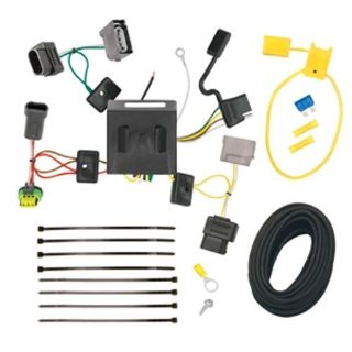 Sell Trailer Hitch Wiring Tow Harness For 2011 2012 Dodge Journey W/ LED Taillights motorcycle in Springfield, Ohio, United States, for US $56.00