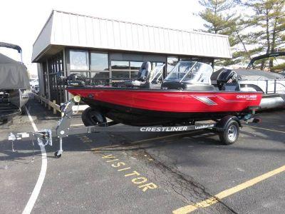 2019 Crestliner 1750WT FISH HAWK Aluminum Fish Boats Saint Peters, MO