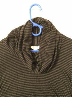 Long sleeve maternity cowl neck top - large