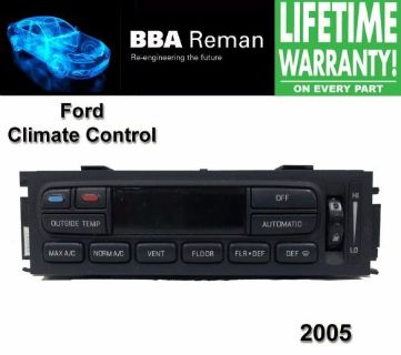 Find 2005 Ford Climate Control Repair Service Heater AC Head Lincoln Mercury 05 motorcycle in Taunton, Massachusetts, United States