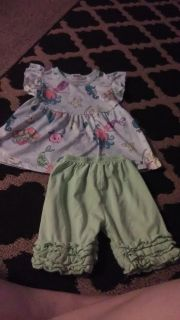 Boutique mermaid 4t outfit
