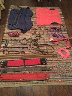 Horse tack new and old