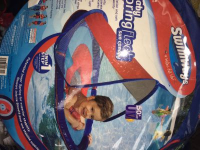 LIKE NEW Baby Float with canopy ONLY $1!!!