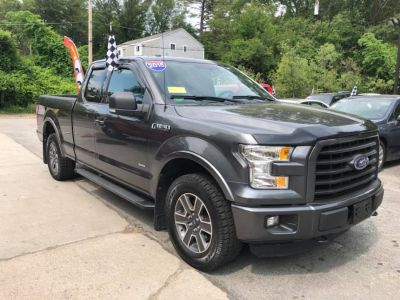 """2015 Ford F-150 4WD SuperCab 145"""" XLT (Magnetic Metallic)"""