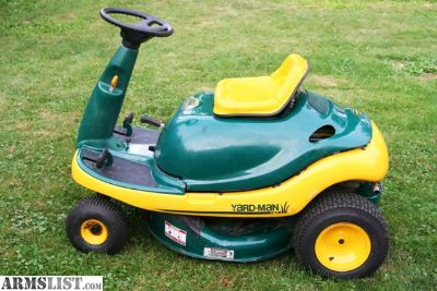 For Sale: Yard-Man Yard Bug Riding Mower