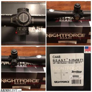 For Sale: Nightforce BEAST