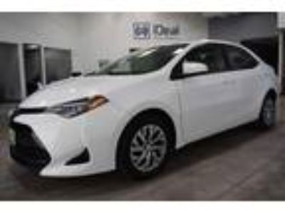 used 2017 Toyota Corolla for sale.