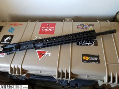 """For Sale/Trade: Troy 16"""" Upper with Factory Keymod rail***CHEAP***"""