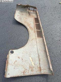 Type 3 NOS left rear quarter skin