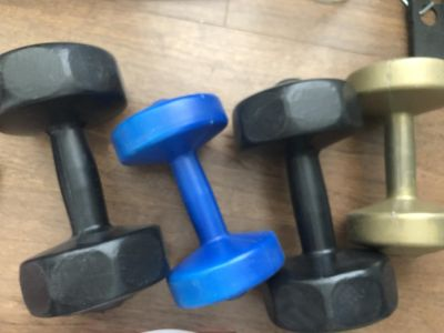 Dumbbell Weights - 2 x 10lbs, 2 x 5lbs