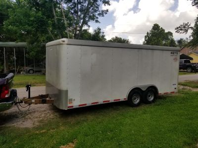 18FT Enclosed Trailer