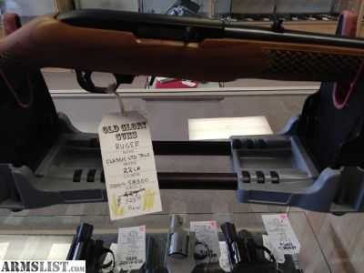 For Sale: Ruger Classic LTD Talo (22LR)