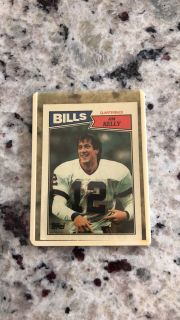 1987 Tops Rookie Card