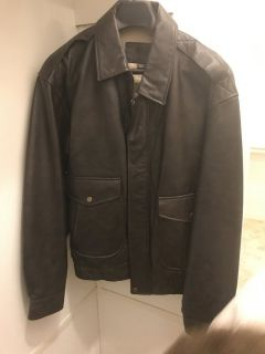 New St. John's Bay Bomber Jacket (Size Med.)