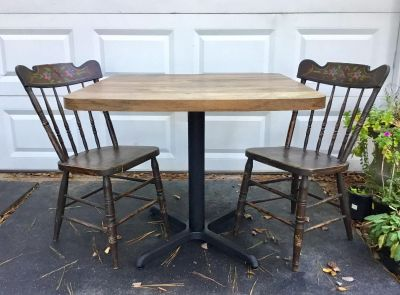 Project Table & 2 Chairs