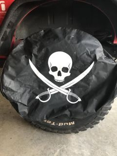 Jolly Roger Tire Cover
