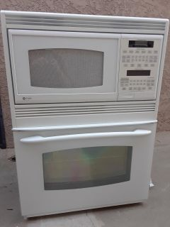 GE profile microwave and convection oven wall unit