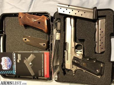 For Sale/Trade: Sig Sauer 1911 Stainless Match Elite 9mm