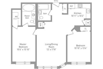 New York, prime location 2 bedroom, Condo. Parking Available!