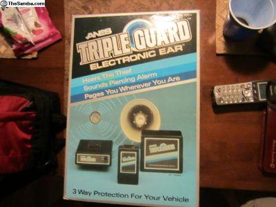 Alarm - Triple Guard Electronic ear