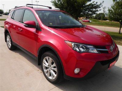 2014 Toyota RAV4 Limited (Barcelona Red Metallic)