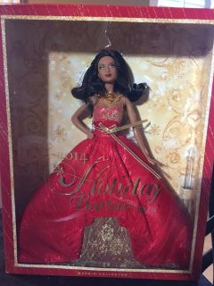 2014 Holiday Barbie - African-American