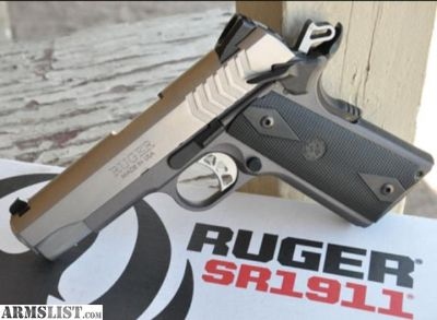 For Sale: Ruger sr1911 9mm