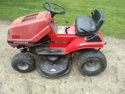 "Dynamark 38"" Riding Mower For Parts"